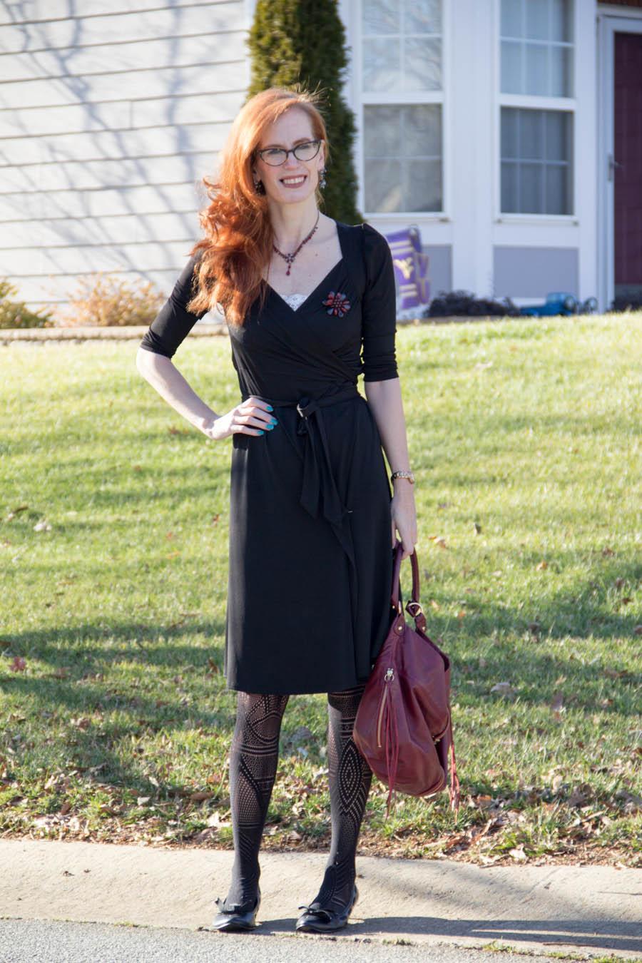Karina Gala wrap dress