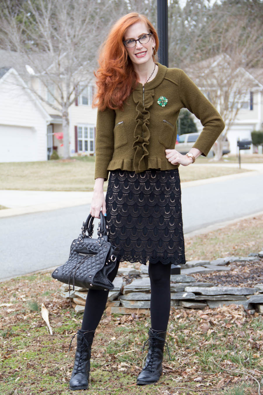 Olive This Shade Of Green Elegantly Dressed And Stylish Fashion Over 50