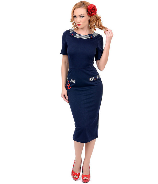 m4ewyj-l-610x610-50s-pinup-pinup+girl-pin+girl-audrey+hepburn-sailor-pencil-party+dress-navy+dress