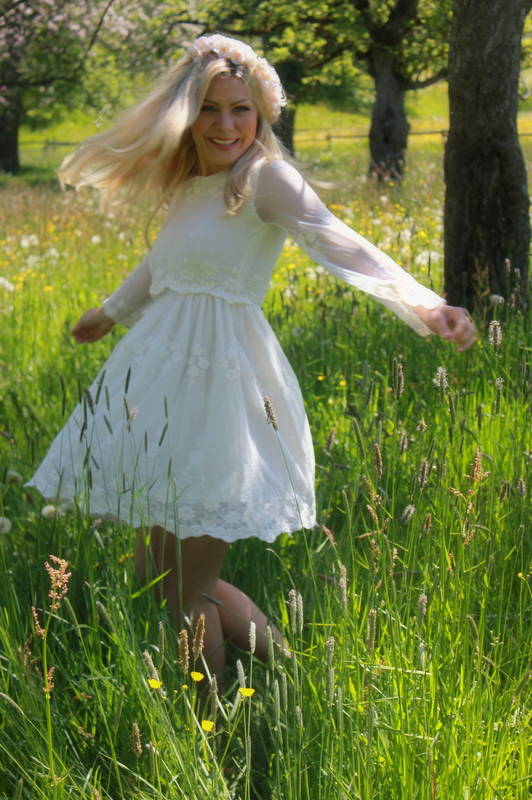fleurani white lace dress romantic asos 11