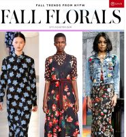 Fall Trends NYFW- Styling My Floral  Purple and Navy Dress for Fall/ Denim Look 3