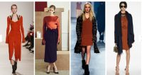 Turning Heads Linkup:Fall Trends: NYFW Potters Clay-A Satin Midi Dress from Mango: Look 2