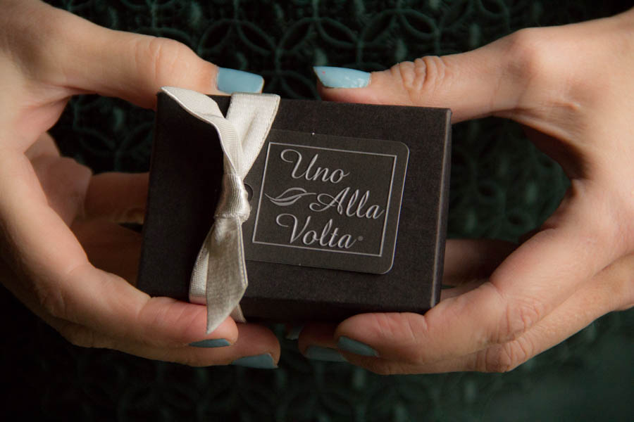 Uno Alla Volta. Uno Alla Volta markets and sells artisan-made products such as glassware, jewelry, and body care products, mostly through its print and online catalog.