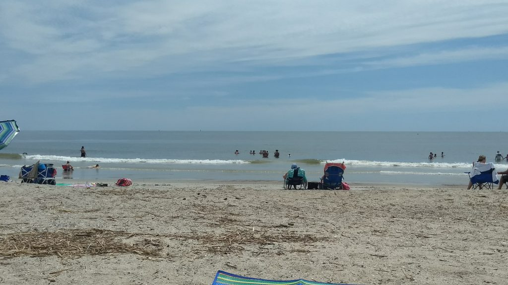 Tybee Island Is A Barrier In Chatham County Georgia Near Savannah United States The Name Also Used For City Located On Part