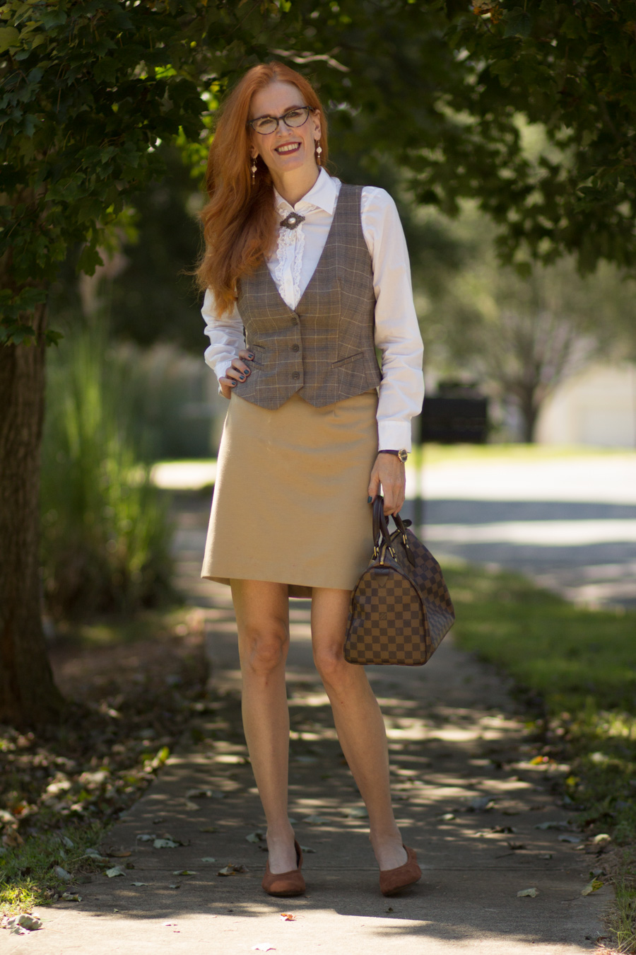 Turning Heads Linkup- A Menswear-Inspired Structured Look