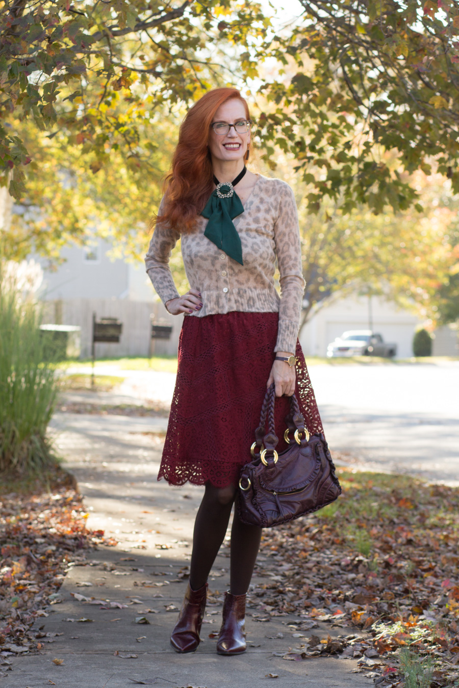 296ea7835bc Turning Heads Linkup-Leopard and Lace-and a New Favorite Accessory ...