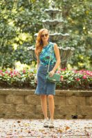 IMG 9326 133x200 - Turning Heads Linkup- Retro- fashion Jean Skirt with  Anthropologie Prime