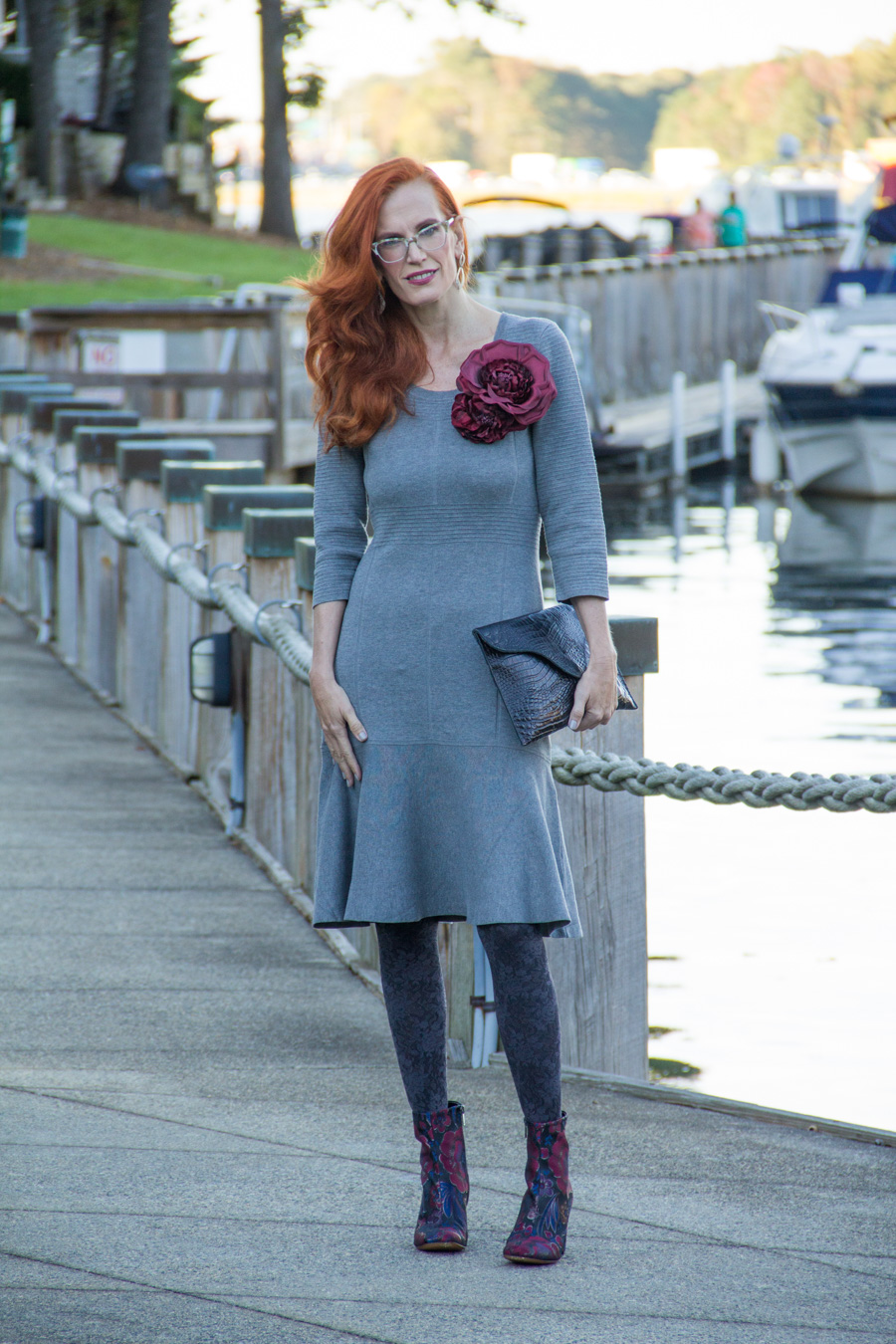 """4e7ea18e786 ... as the sweater dress discovers European refinement in this shapely slip  over. Varied knits sculpt the waist and minimize the shoulders"""" The flouncy  hem ..."""