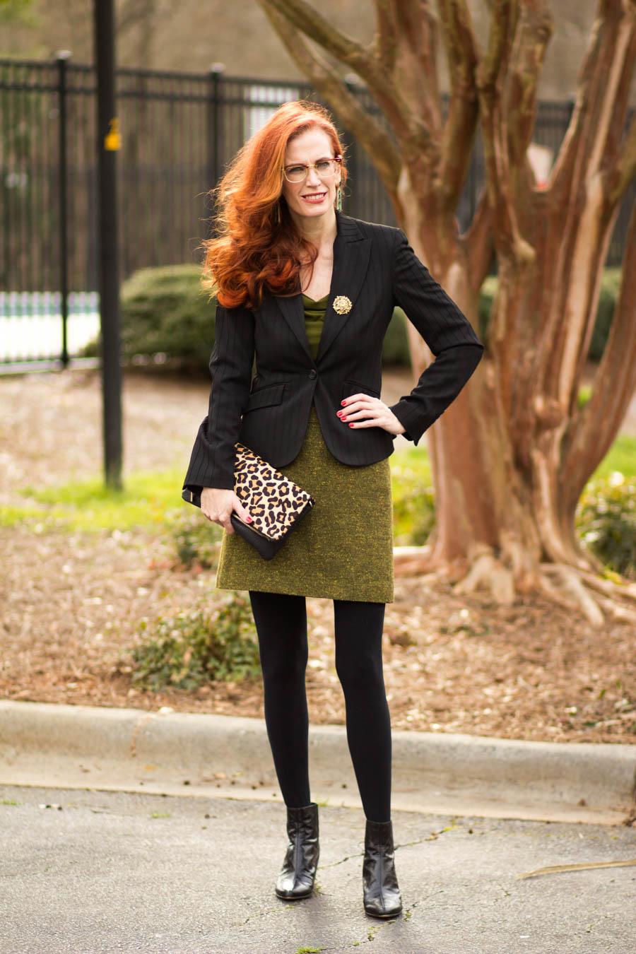 women;s tweed skirt