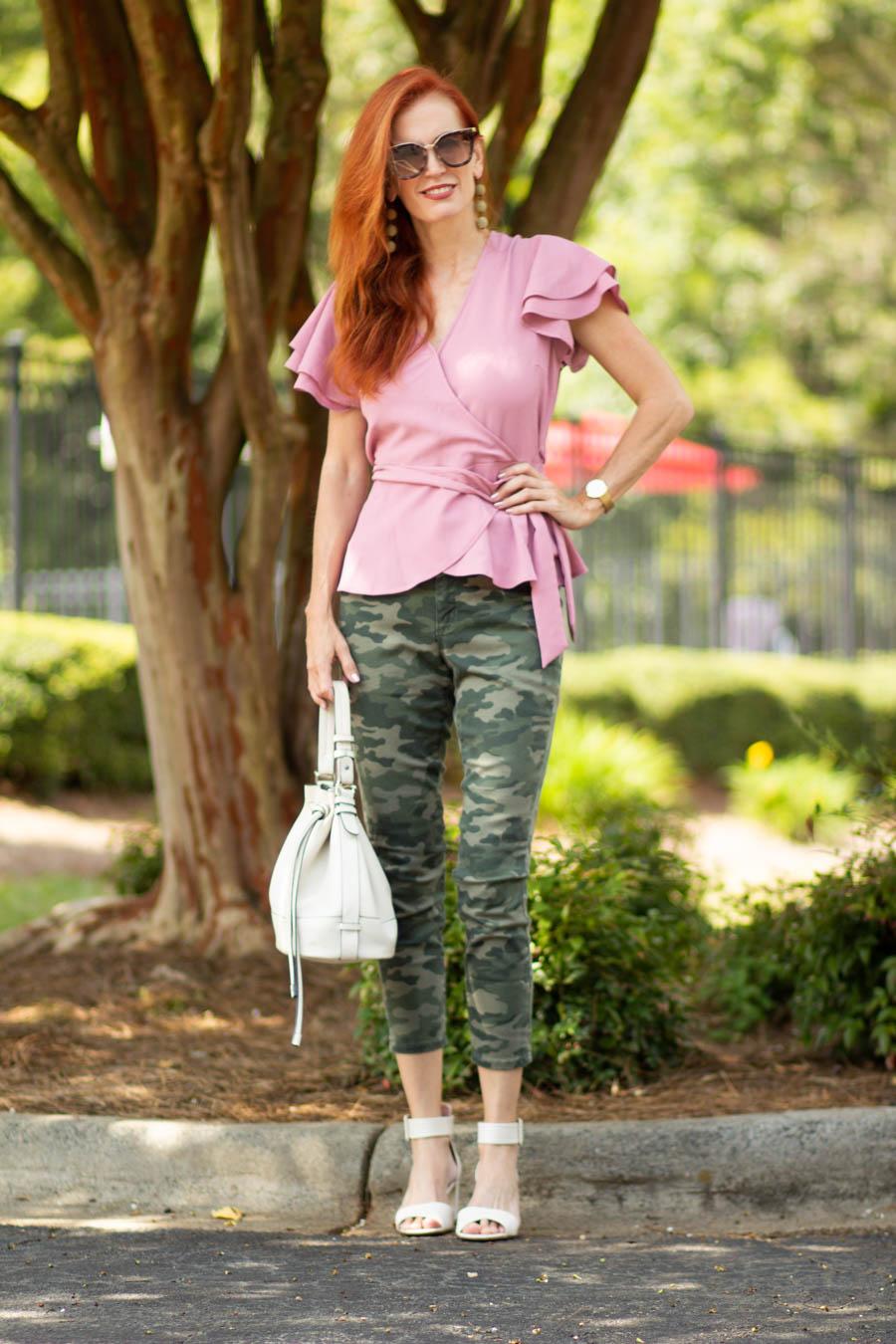 Women's camo jeans