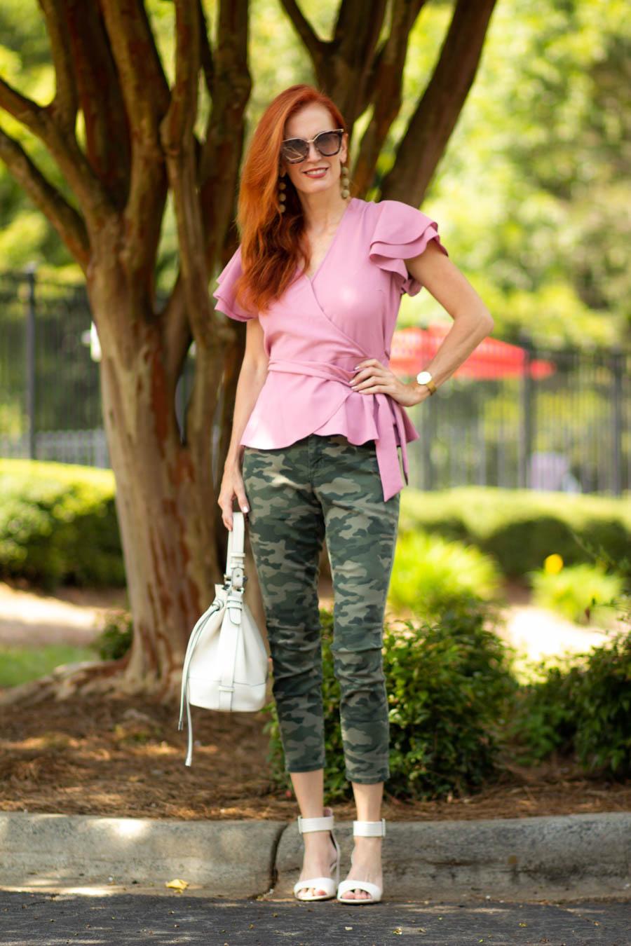 Target camo jeans