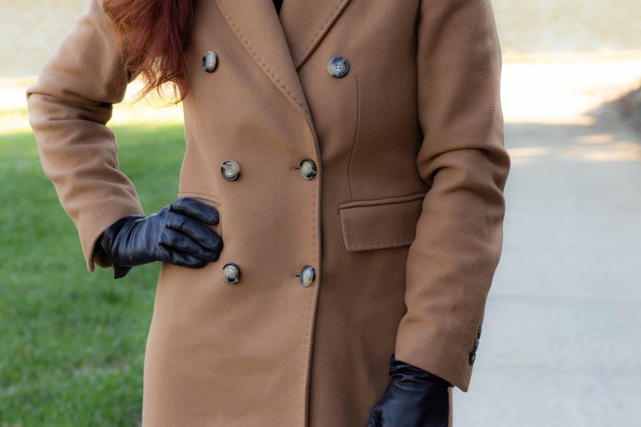 women's camel coat