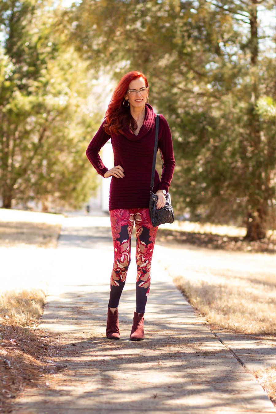 Soft Surroundings Leggings outfit