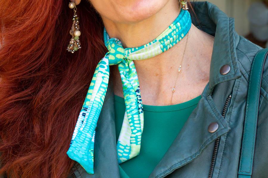 Gibby's Frillery neck scarves