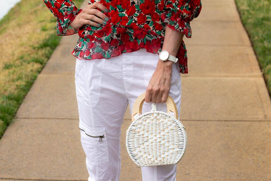 XCVI Malanda pant styled for Spring