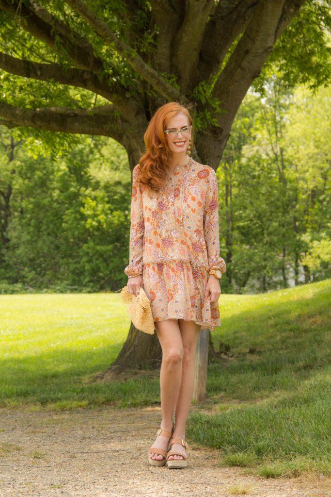 Floral Spring minidress