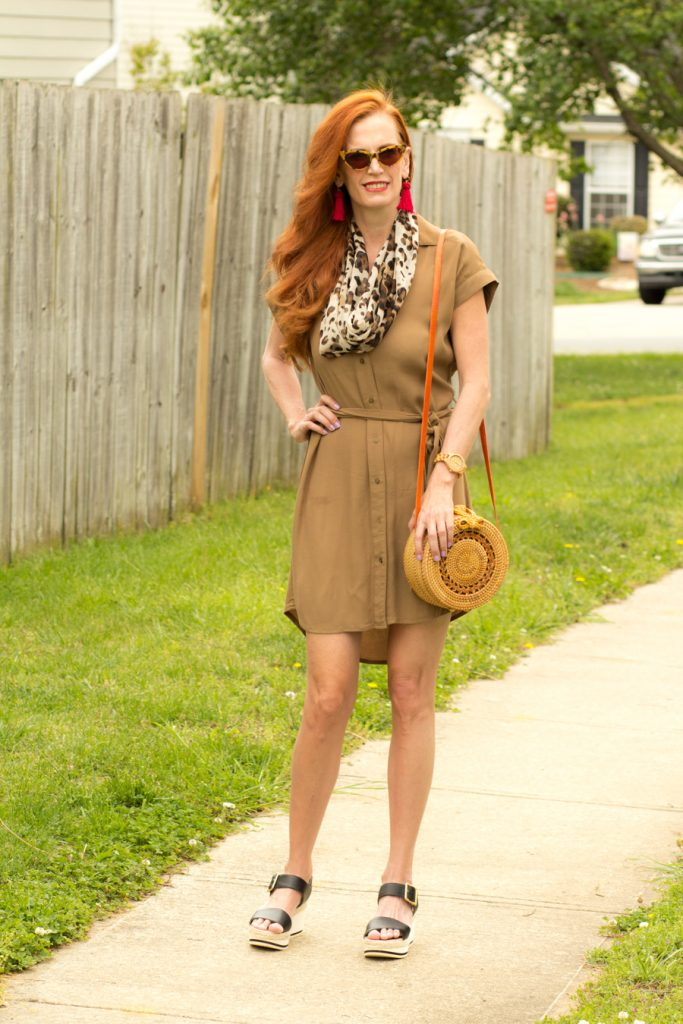 A utility dress for Spring