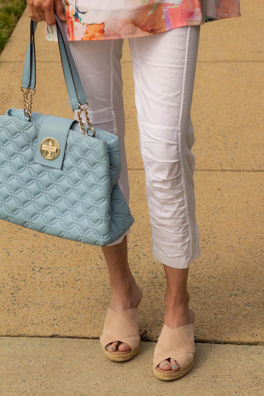 XCVI white leggings