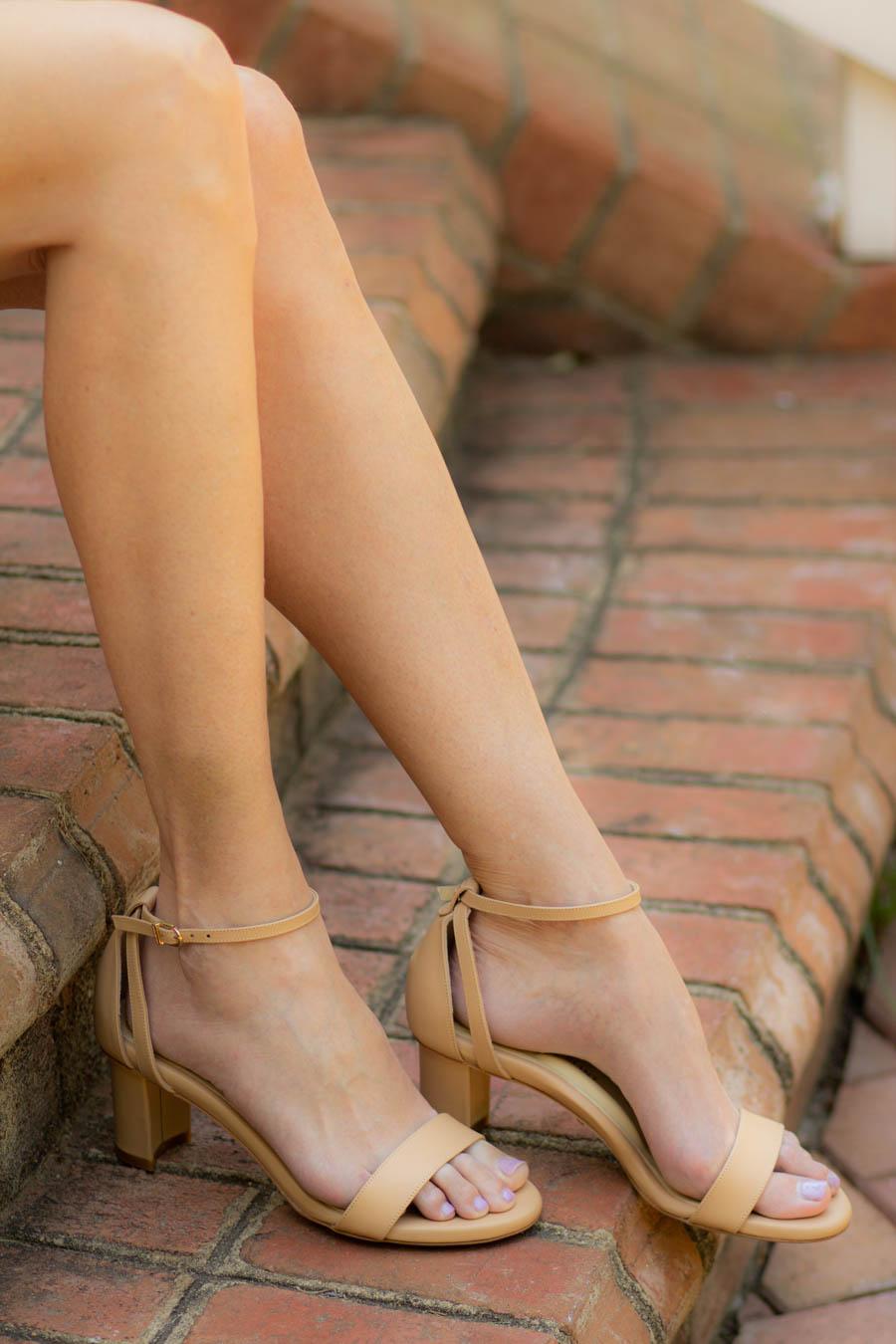 Sarah Flint block sandals