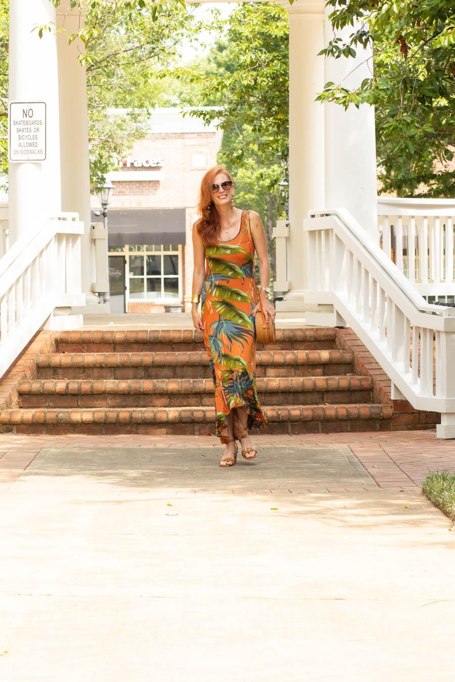 Tropical dress Soft Surroundings