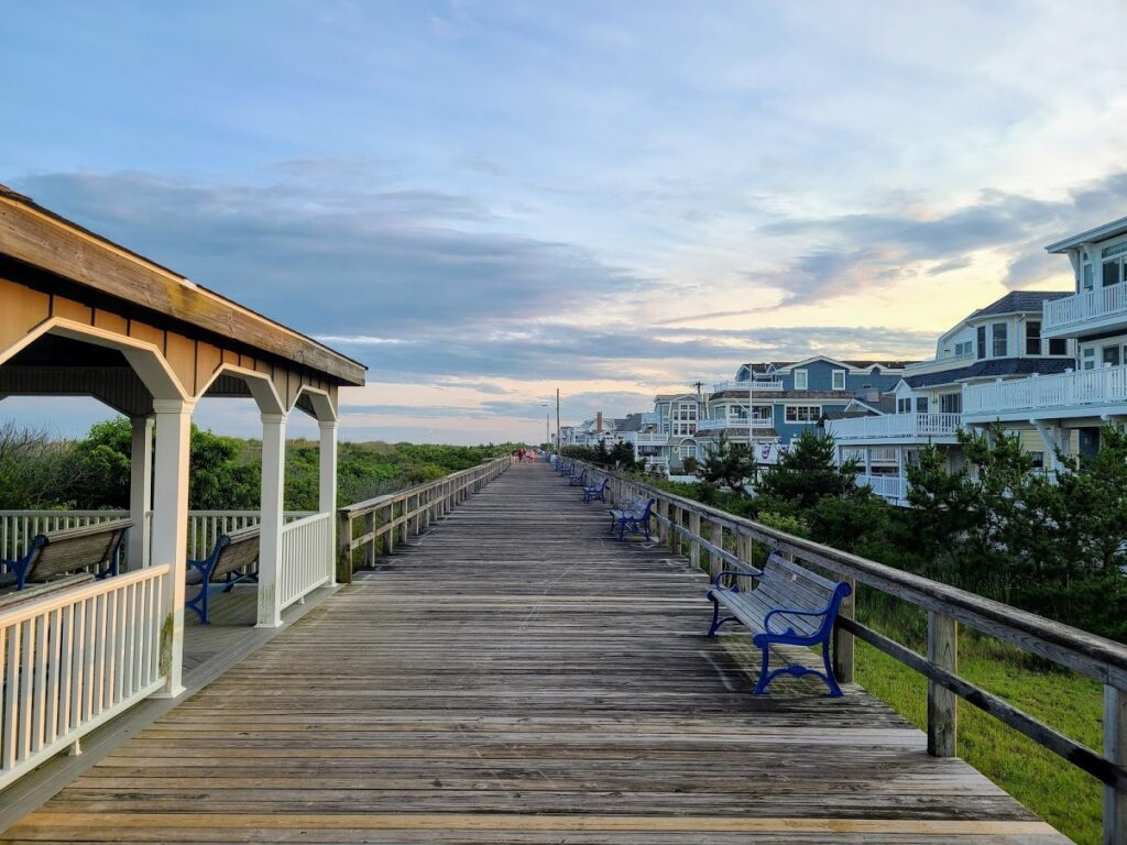 Avalon, NJ boardwalk