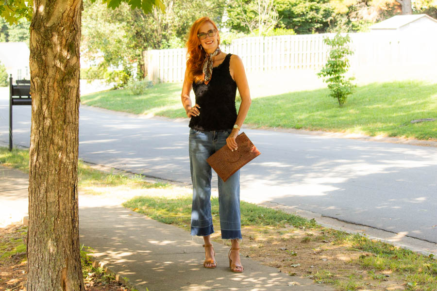 Styling black and brown in an outfit