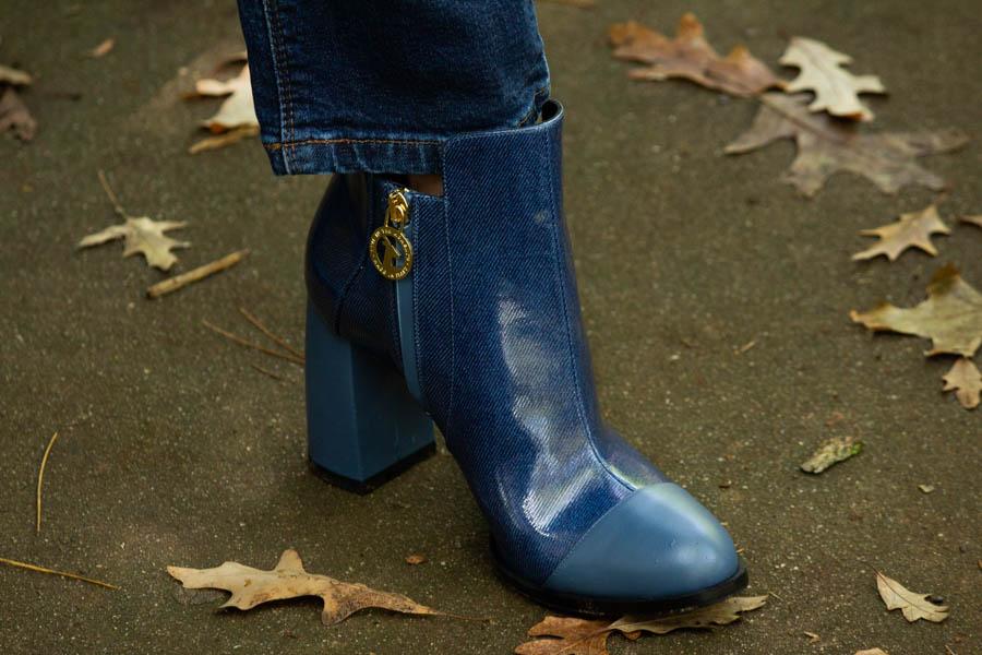 moon d'elle Luxury Italian boots
